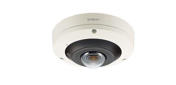 Camera IP Fisheye hồng ngoại wisenet 12MP/4K PNF-9010RV/VAP