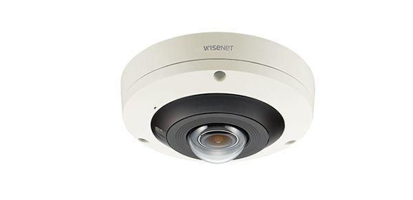 Camera IP Fisheye hồng ngoại wisenet 12MP/4K PNF-9010R/VAP